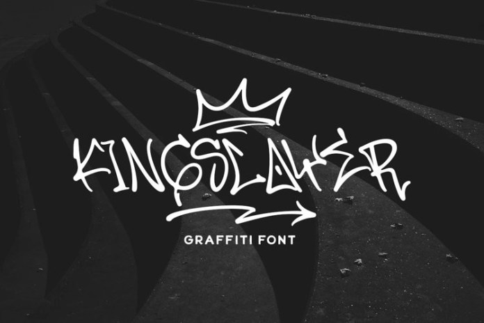 Kingslayer Script Font