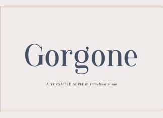 Gorgone Sans Serif Font