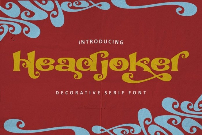 Headjoker Display Font