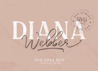 Diana Webber Display Font