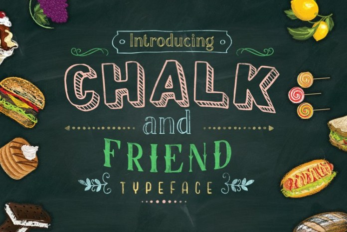 Chalk and Friend Display Font