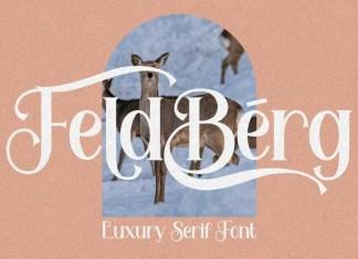 Feldberg Serif Font