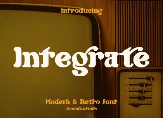 Integrate Display Font