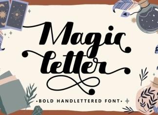 Magic Letter Script Font