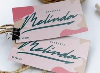 Melinda Script Typeface
