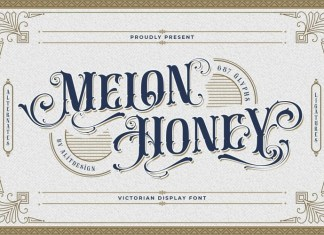 Melon honey Blackletter Font