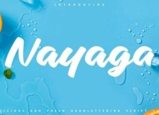 Nayaga Brush Font