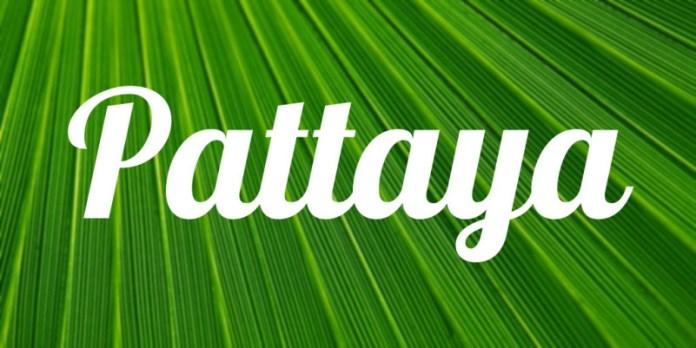Pattaya Script Font