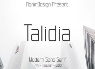 Talidia Sans Serif Font