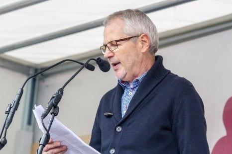 Heinz Veigel (Verein Verantwortung-Zukunft-Lernen): »Für einen Bildungsplan, der Kindern und Jugendlichen dient – nicht aparten Sonder-Interessen einiger Lobbyisten.«