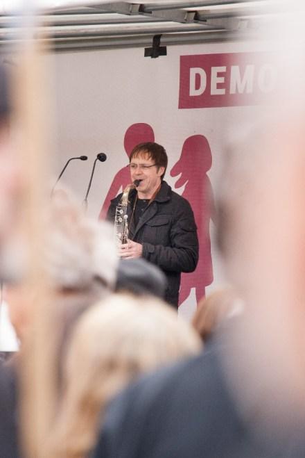 Live Musik mit Piano und Saxophon (Lajos Bartha)