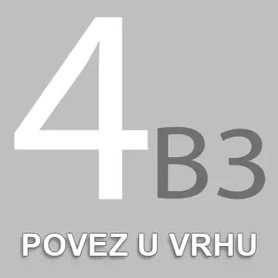 Povez u vrhu 4B3