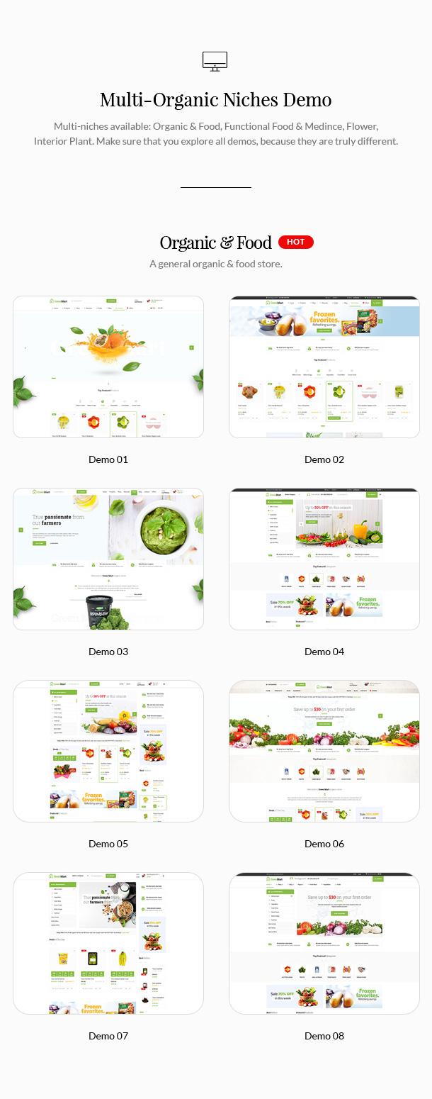 GreenMart – Organic & Food WooCommerce WordPress Theme - 7