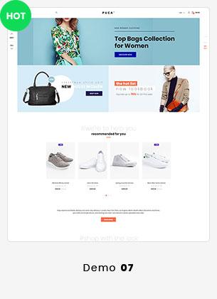 Puca - Optimized Mobile WooCommerce Theme - 18