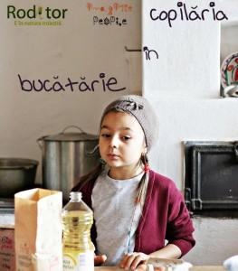 Copilaria in Bucatarie