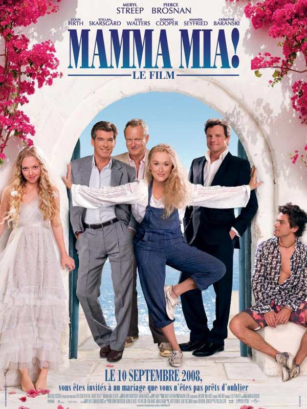 affiche du film mamma mia