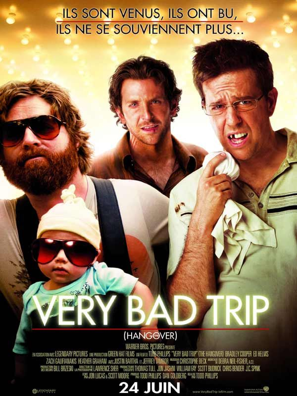 affiche du film very bad trip