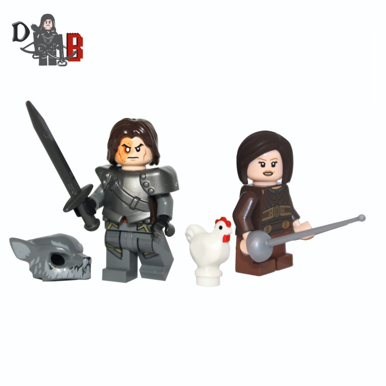 Lego The hound & Arya V4