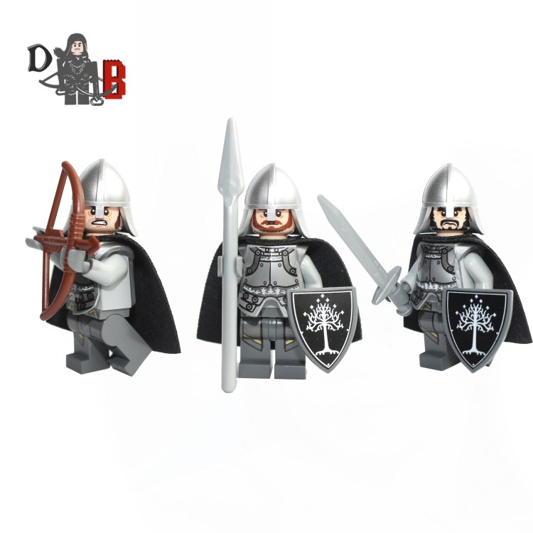 gondor lego lord of the rings lego custom gondor soldier