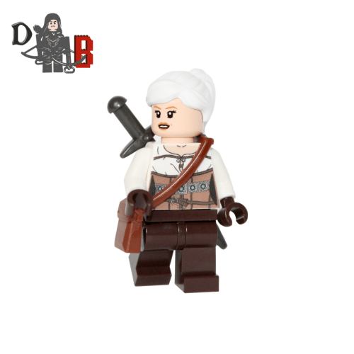 Witcher 4 Pack of Minifigures, Geralt, Ciri, Triss & Yennefer