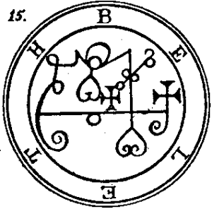 Beleth Second Sigil
