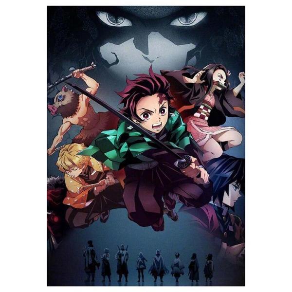 Kimetsu no Yaiba Poster - Demon Slayer Merch