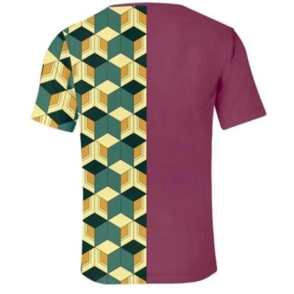 tomioka giyuu pattern shirt back