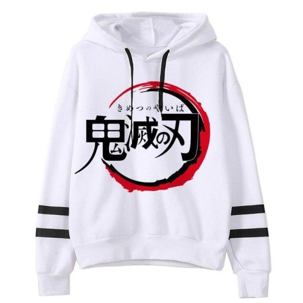 Japanese Logo Hoodie - Demon Slayer Merch