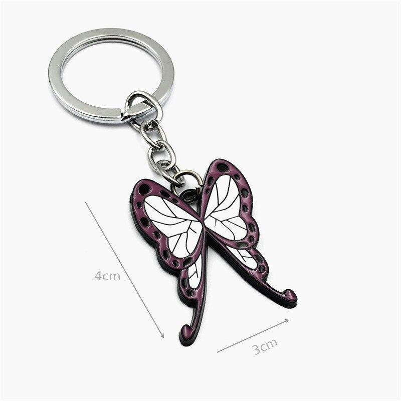Shinobu Butterfly Keychain - Demon Slayer Merch
