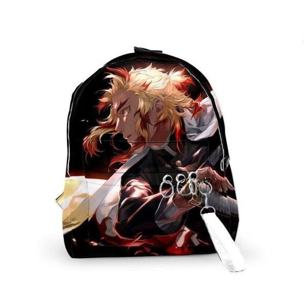 Rengoku Prepares to Attack Backpack - Demon Slayer Merch