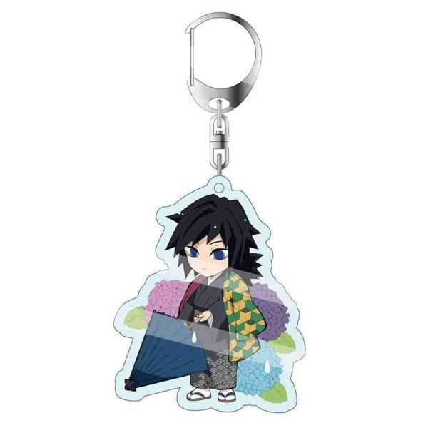 Giyuu Tomioka Umbrella Keychain