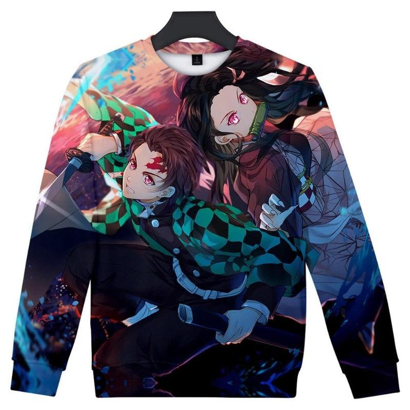 Tanjiro and Nezuko Sweatshirt - Demon Slayer Merch
