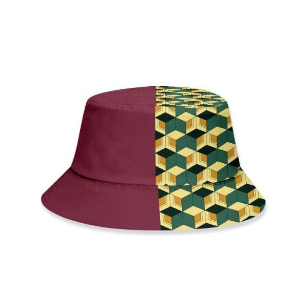 Giyu Tomioka Pattern Bucket Hat