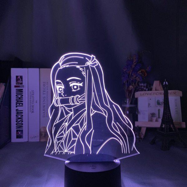 Nezuko Side Face Lamp