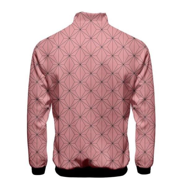 demon slayer jacket nezuko pattern back