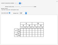 Venn Diagrams for Two-Variable Boolean Logic Circuits