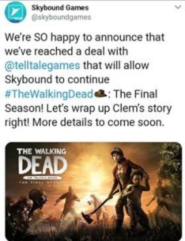 The Walking Dead: Final Season has been revived. 2
