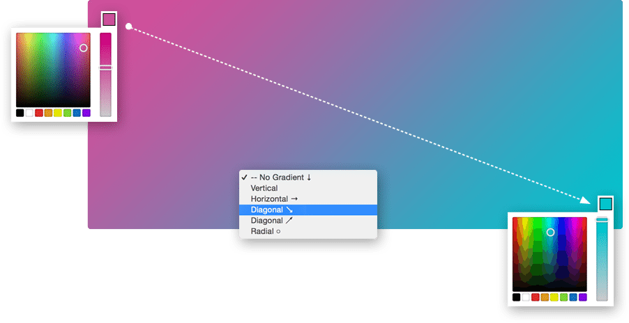 Gradient Fill Section