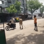 Indian Police Use Force On People Who Refuse To Stay In