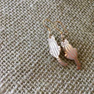 Holly Yashi Kitty earrings $39