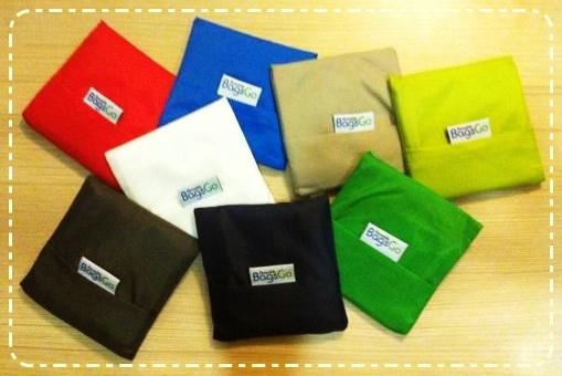 THE BAG WITH A TASK: BagsGo Reusable Bags