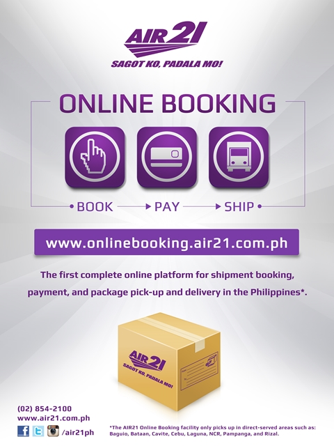 AIR21 Online Booking
