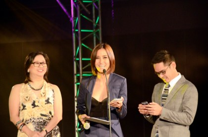 VP for Tattoo Home Broadband Business Jurist Gamban, Bianca Gonzalez, new VP for Tattoo Nomadic Broadband Business Rey Guinoo