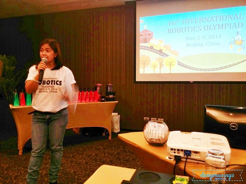Ms. Pinky Legaspi of DSTC discussed the company's line of products and the competition.