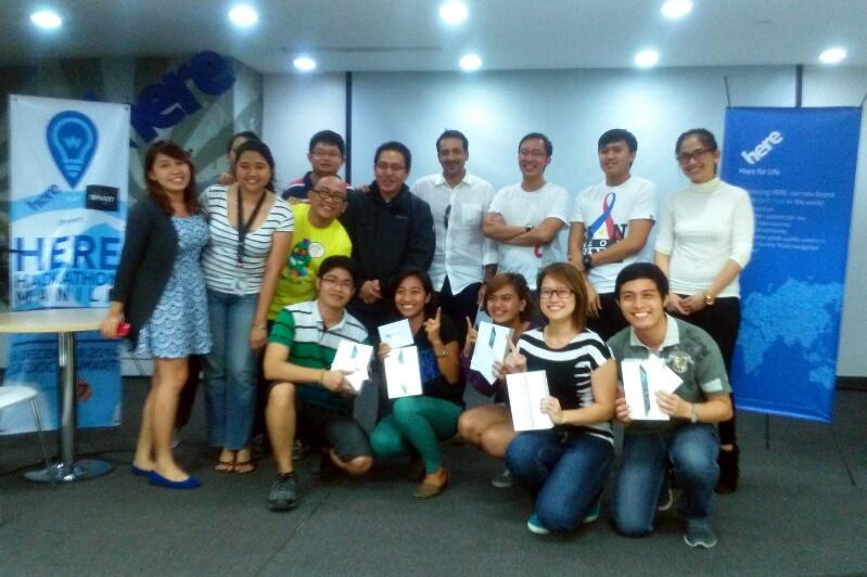 HERE Hackathon Manila Champion, Team NavigAide