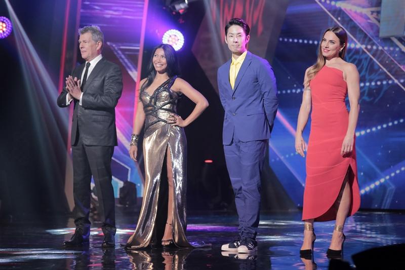 Asia's Got Talent Judges David Foster, Anggun, Van Ness Wu, Melanie C.
