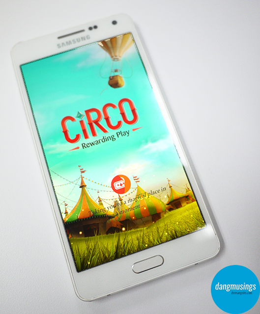 Samsung Circo Loading Screen
