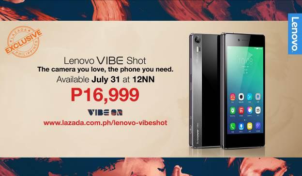 Lenovo VIBE Shot: The Camera You Love, The Phone You Need