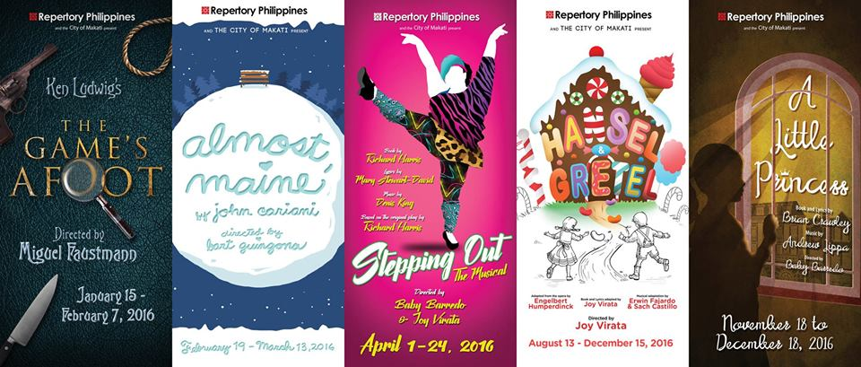 [Theater] Repertory Philippines Launches 79th Season with Comedy, Drama, and Musicals for Young Children