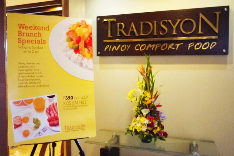 Azalea Residences Baguio flagship restaurant Tradisyon Coffee Shop